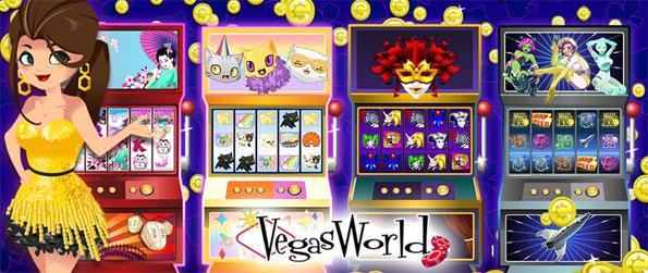Vegas World - Play and meet new friends in this social casino gaming gem, Vegas World!