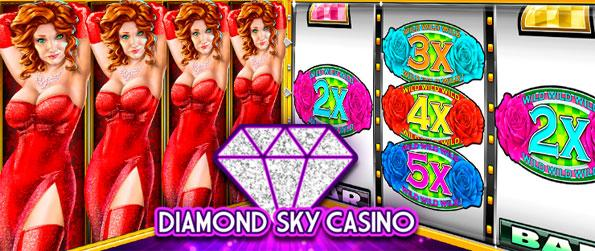 Diamond Sky Casino - Play on a huge variety of slot machines in Diamond Sky Casino.
