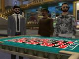Guys playing in The Four Kings Casino and Slots