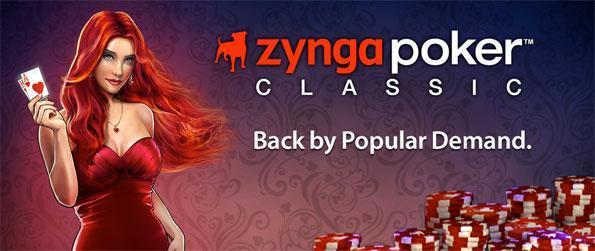 Zynga Poker Classic TX Holdem - Play poker against real people from all around the world in Zynga Poker Classic TX Holdem.