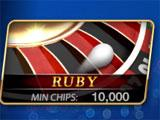 Roulette Royal Ruby Roulette Table