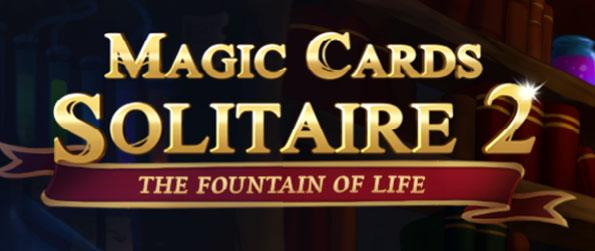 Solitaire Magic Cards 2: The Fountain of Life - Follow our mage protagonist as he attempts to find the Fountain of Life.