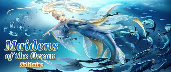 Maidens of the Ocean Solitaire - Explore the depths of the ocean in this phenomenal solitaire game that doesn't cease to impress.