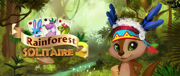 Rainforest Solitaire 2 - Join Tico and his band of rainforest animals in an unforgettable Solitaire adventure.