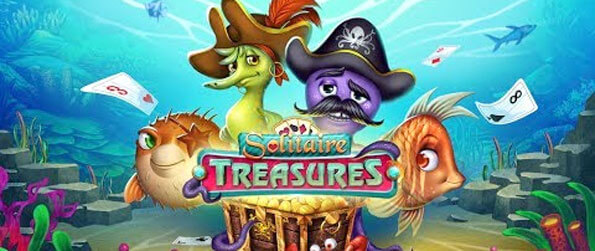 Solitaire Treasures - Enjoy this stellar solitaire game that you can enjoy while on the go.