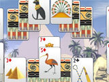 Luxor Solitaire gameplay