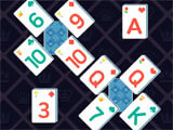 Theme Solitaire: Tower TriPeaks challenging level