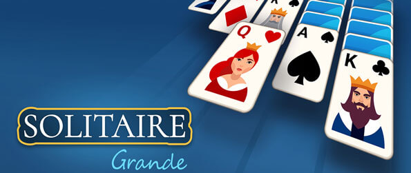 Solitaire Grande - Enjoy a fun, relaxing game of klondike solitaire in Solitaire Grande!
