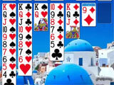 Solitaire Journey by Arcade Game Maker making progress