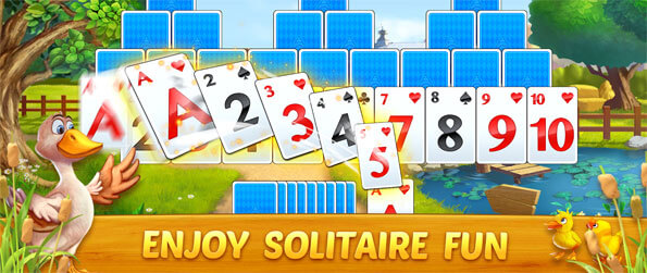 Solitaire Tripeaks: Farm Adventure - Play this delightful solitaire game that you can enjoy in the comfort of your mobile device.