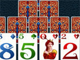 Fantasy Solitaire TriPeaks gameplay