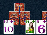 Fantasy Solitaire TriPeaks challenging level