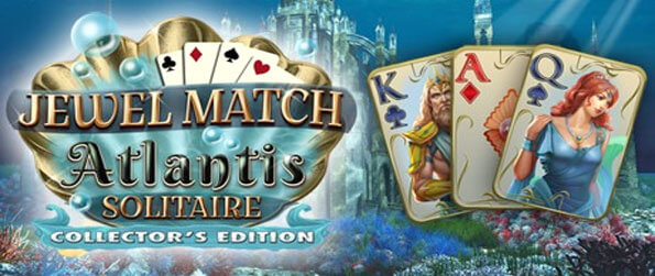 Jewel Match Solitaire: Atlantis - Test your skills in this high-end solitaire game that goes above and beyond to provide an immersive experience.