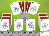 Solitaire: Beautiful Garden Season gameplay