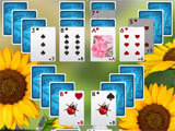 Solitaire: Beautiful Garden Season gorgeous visuals