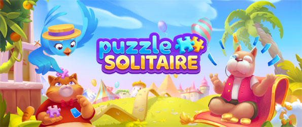 Puzzle Solitaire - Enjoy this addicting solitaire game that you can enjoy for hours upon hours in the comfort of your mobile device.