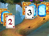 Solitaire: Elemental Wizards gameplay