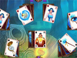 Solitaire: Elemental Wizards challenging level