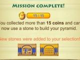 Complete missions in Cleopatras Pyramid