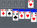 Solitaire by Zynga starting off