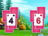 Township: Solitaire Tripeaks gameplay
