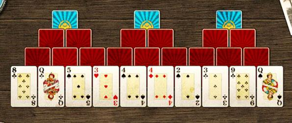 Scarab Solitaire - Release the scarab cards in a relaxed and fun solitaire game.