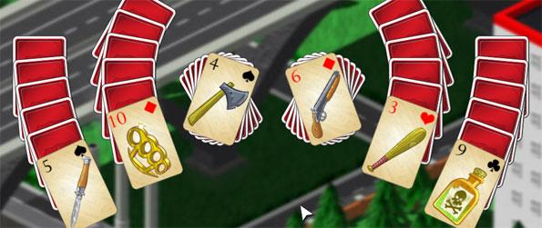 Crime Solitaire 2 - Enjoy a fabulous solitaire game taking you to the crime ridden streets to clean them up.