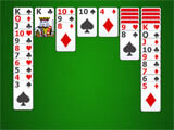Solitaire Classic Patience close to winning