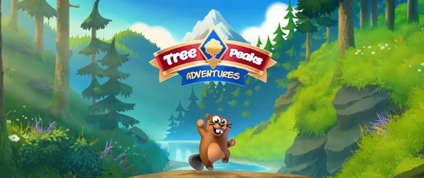 Treepeaks - Help the adorable beaver solve amazing solitaire puzzles in this delightful game that impresses on many fronts.