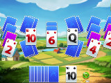 Playing Solitaire Card Harvest Journey