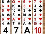 Forming a deck of cards