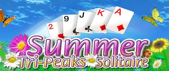 Summer Tri-Peaks Solitaire - Relax yourself in the most peaceful solitaire game to ever surface.