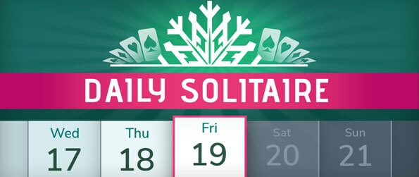 Daily Solitaire - Play unique solitaire games every day with Daily Solitaire!