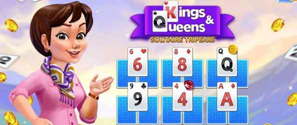 Kings and Queens Solitaire Tripeaks - Enjoy a game of solitaire in this gorgeous game!