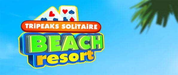 Tripeaks Solitaire Beach Resort - Enjoy a simple yet challenging game of Solitaire.