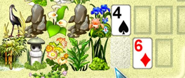 Koi Solitaire - Build beautiful Japanese gardens for your clients by solving Solitaire puzzles.