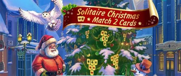 Solitaire Christmas Match 2 Cards - Play this fantastic solitaire game that brings a unique twist to the standard gameplay.