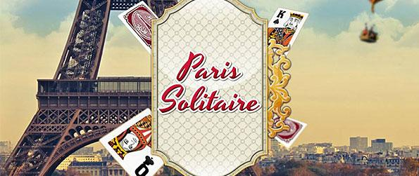 Paris Solitaire - Experience the real deal with basic Klondike as you take on the legit challenge of a solitaire game in Paris Solitaire.