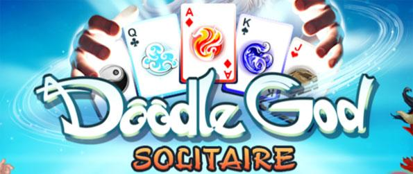 Doodle God Solitaire - Collect all of the special cards to unlock all the game's levels!