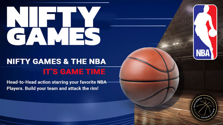 Nifty Games Teams Up With The NBA And NBPA To Bring Head-To-Head Basketball Action To Mobile Devices
