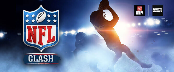 Nifty Games Officially Announces Licensed NFL Clash Game for Mobile Devices