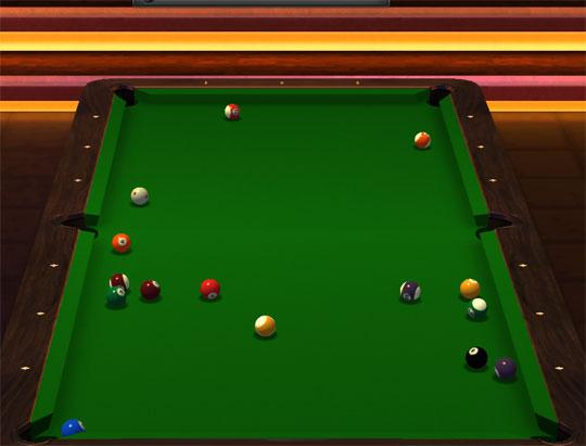 A Different View in Pool Elite