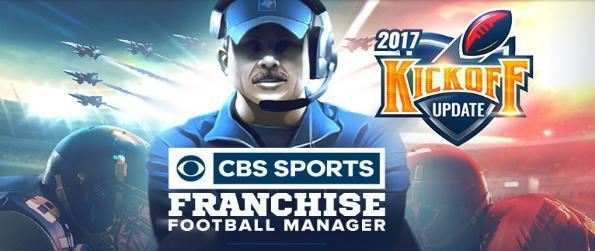 CBS Sports Franchise Football - Guide your American football team through the season, and lead them to the Super Bowl to win it all!
