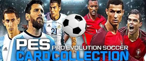 PES CARD COLLECTION - Enjoy an exciting football simulation card collection gameplay in PES CARD COLLECTION.