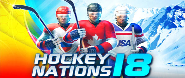 Hockey Nations 18 - Experience the thrill of Ice Hockey in this top tier game that captures the essence of the sport.