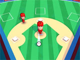 Super Hit Baseball gameplay
