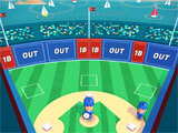 Super Hit Baseball pitching