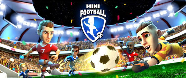 Mini Football - Get hooked on this truly captivating football game that's like no other out there.
