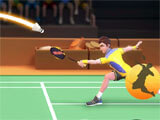 Badminton Blitz intense match