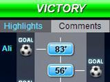 Live match report from Top Eleven